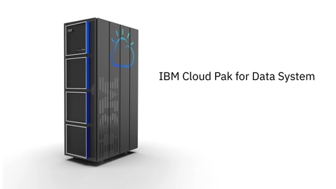 Thumbnail for entry Demo: IBM Cloud Pak for Data System