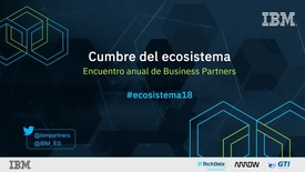 Thumbnail for entry HARALD MESSEMER Encuentro anual Business Partners IBM