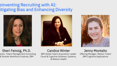 Thumbnail for entry Reinventing Recruiting with AI: Mitigating Bias and Enhancing Diversity