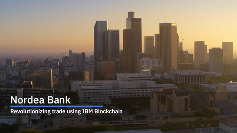 Thumbnail for entry Nordea revolutionizes cross-border trade using IBM Blockchain