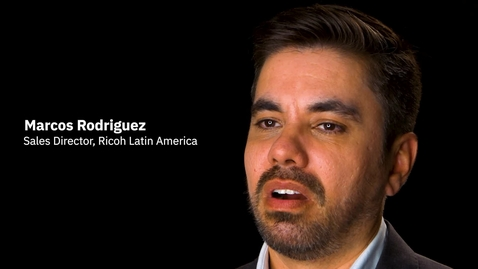 Thumbnail for entry Ricoh Latin America e IBM Services: ¿Cómo entregar un soporte tecnológico excepcional? - LA - CO-ES