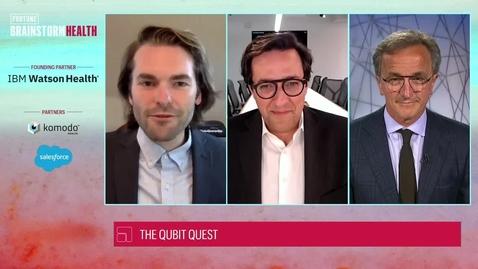 Thumbnail for entry Qubit Quest: Quantum computing in healthcare