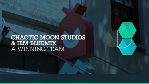 Thumbnail for entry Chaotic Moon & IBM Bluemix team to deliver technology of consequence