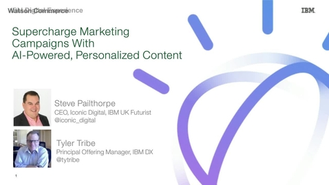 Thumbnail for entry Super charge marketing campaigns with AI-powered, personalized content