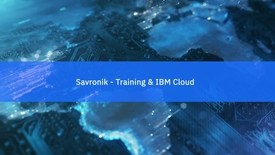 Thumbnail for entry Savronik Elektronik: Advancing training applications with IBM Cloud