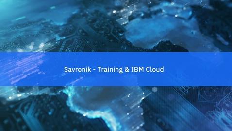 Thumbnail for entry Savronik Elektronik: Advancing training applications with IBM Cloud