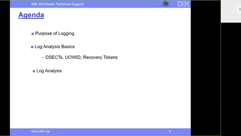 Thumbnail for entry Mining IMS Logs for performance/diagnostics data