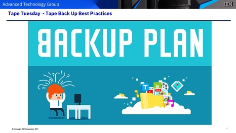 Thumbnail for entry Tape Backup and Recovery Best Practices