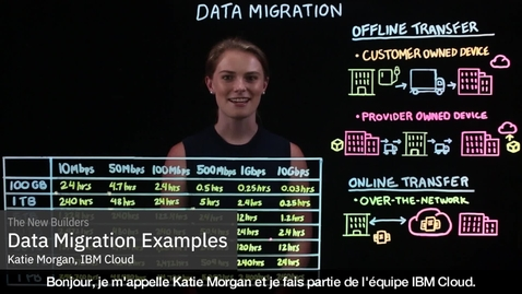 Thumbnail for entry Data Migration Examples - French