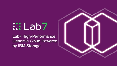 Thumbnail for entry Lab7 High-Performance Genomic Cloud Powered by IBM Storage