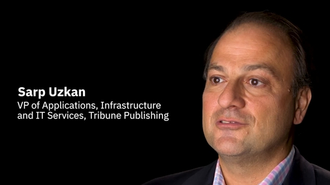 Thumbnail for entry Tribune Publishing + IBM Services: Industry transformation through technology