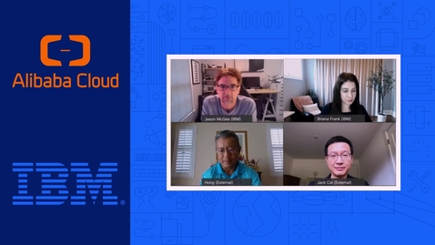 Thumbnail for entry Alibaba brings IBM Cloud services to their customers using IBM Cloud Satellite