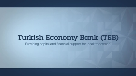 Thumbnail for entry Turkish Economy Bank Inc. accelerates time to market