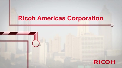 Thumbnail for entry Ricoh Americas Corp - IBM Storage Client Reference Video(1)