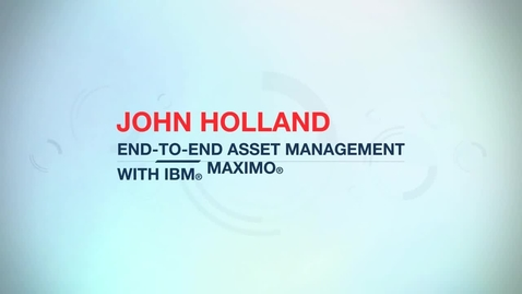 Thumbnail for entry John Holland Group improves asset utilization by 20% with IBM