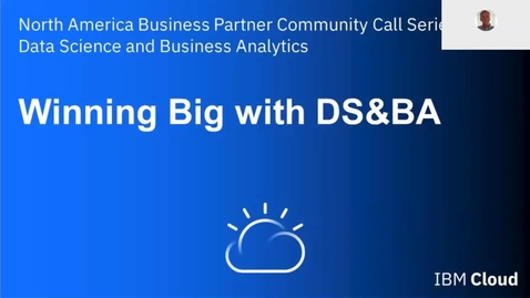 Thumbnail for entry Webinar - Winning Big with DS&BA
