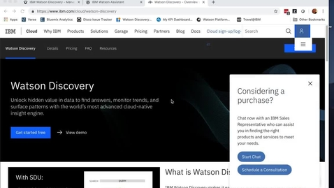 Thumbnail for entry Watson Discovery Demo - Extract Answers From Large Document in 5 Minutes