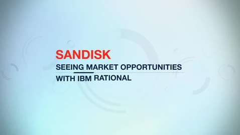 Thumbnail for entry SanDisk reduces critical portfolio analysis reporting steps from two weeks to one day