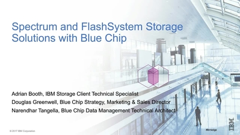 Thumbnail for entry Data Center Modernisation – Leading the way with BlueChip!