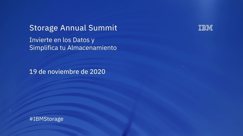 Thumbnail for entry Storage Annual Summit 2020