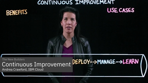 Thumbnail for entry What is Continuous Improvement?