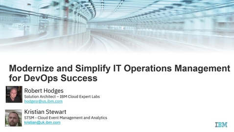 Thumbnail for entry Modernize and Simplify IT Operations Management for DevOps Success