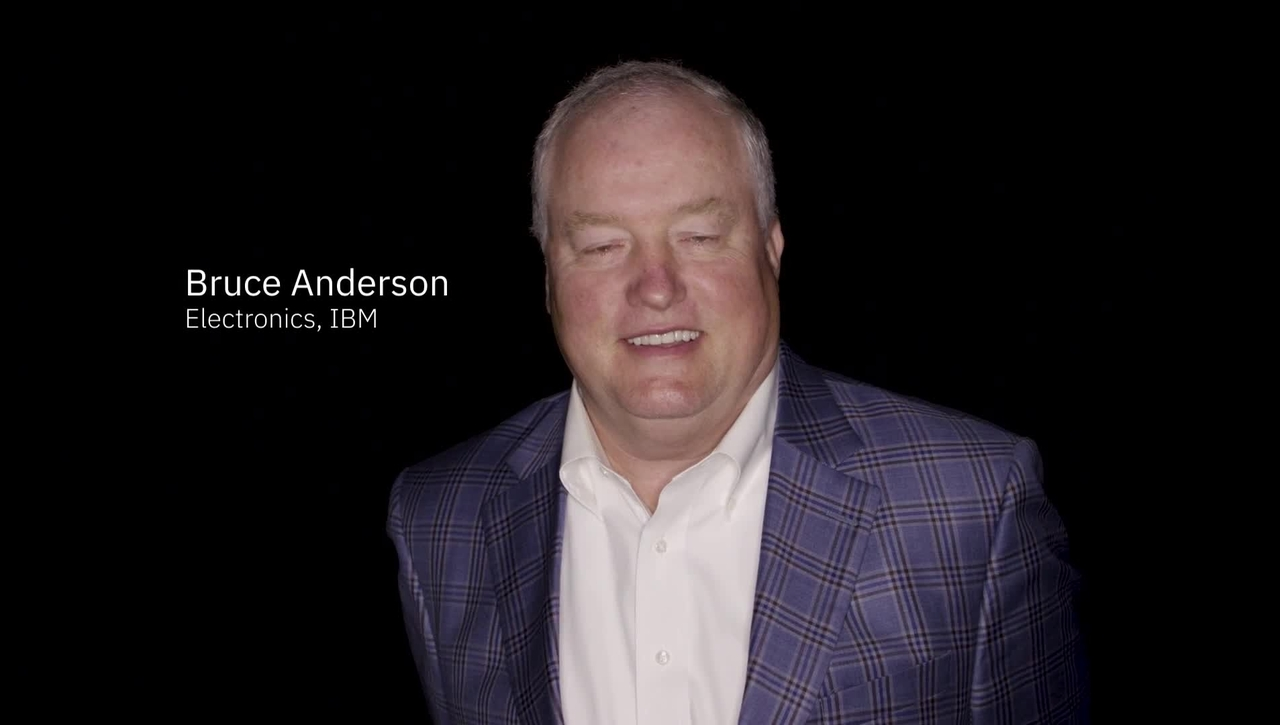 Electronics Industry Expert: Bruce Anderson