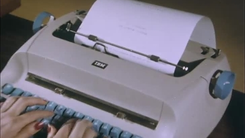 Thumbnail for entry (79-002) The IBM Selectric (1961)