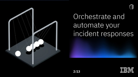 Thumbnail for entry Orchestrate and automate your incident responses
