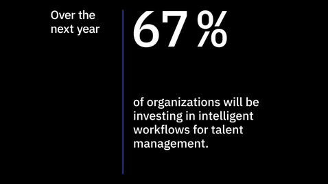 Thumbnail for entry IBM Intelligent Workflows for Talent Management, 2020