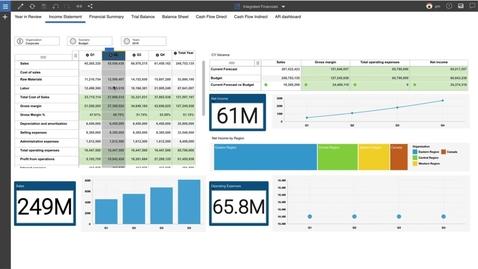 Thumbnail for entry Демонстрация решения IBM Planning Analytics with Watson FP&A