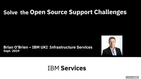 Thumbnail for entry Solve the Open Source Support Challenges_DE