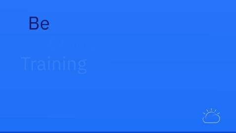 Thumbnail for entry IBM ICCT Teaser v004