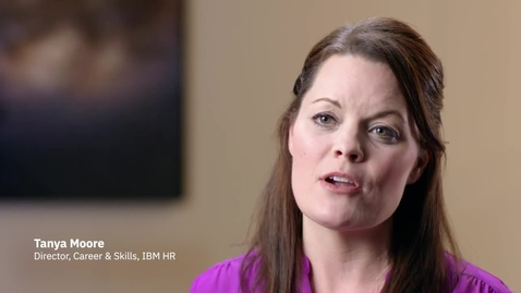 Thumbnail for entry IBM HR Director of Career & Skills Tanya Moore on transformation in talent development