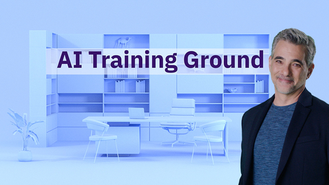Thumbnail for entry AI Training Ground Natural Language Processing