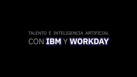 Thumbnail for entry Entrevista a Irene Barrena, HR Manager IBM Global Services