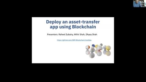 Thumbnail for entry Code Pattern: 使用区块链部署资产转移应用程序