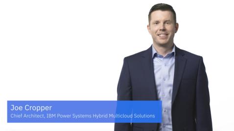 Thumbnail for entry IBM Power Systemsのハイブリッド・マルチクラウド対応に関する6つの質問
