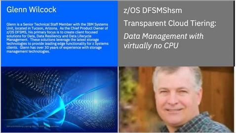 Thumbnail for entry DFSMShsm Education Series-Transparent Cloud Tiering