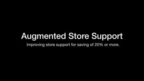 Thumbnail for entry IBM at NRF 2019: Augmented Store Support
