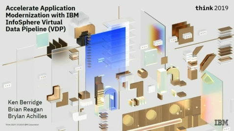 Thumbnail for entry Accelerate Application Modernization with IBM InfoSphere Virtual Data Pipeline