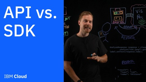 Thumbnail for entry API vs. SDK: What is the Difference?