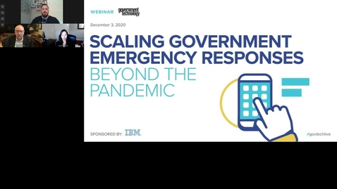 Thumbnail for entry Scaling Government Emergency Responses Beyond the Pandemic