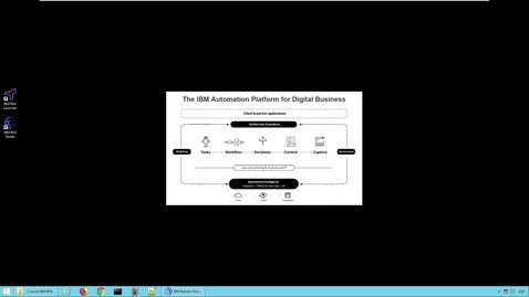 Thumbnail for entry Demo: IBM RPA - Construcción y ejecución de un bot/chatbot