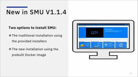 Thumbnail for entry New in Service Management Unite 1.1.4 -- Faster installation with Docker image