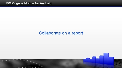 Thumbnail for entry Collaborate on a report