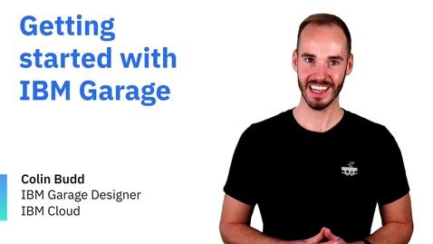 Thumbnail for entry Empezando con IBM Garage