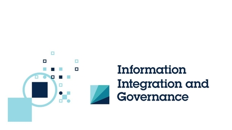 Thumbnail for entry Information Integration and Governance Video