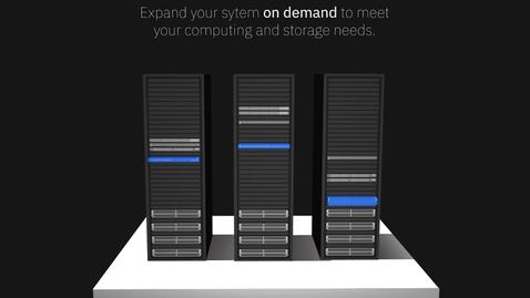 Thumbnail for entry IBM Cloud Pak for Data System demo