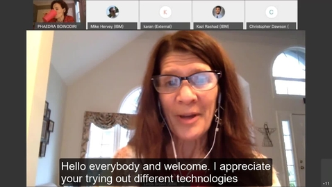 Thumbnail for entry Phaedra Boinodiris talks AI and Ethics - IBM Pathfinder Mentoring Program
